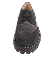 Womens Grey Combo Lug Shoe 5