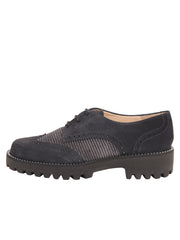 Womens Grey Combo Lug Shoe 6