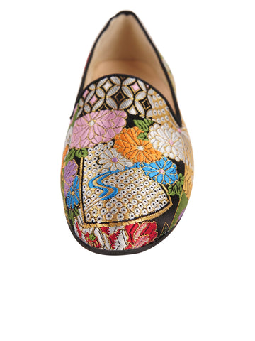 Womens Japan Smoking Slipper Flat 4 Alternate View