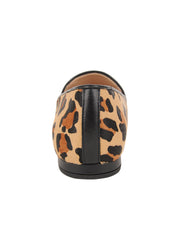 Womens Leopard Haircalf Leopard Flat 2