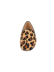 Womens Leopard Haircalf Leopard Flat 4