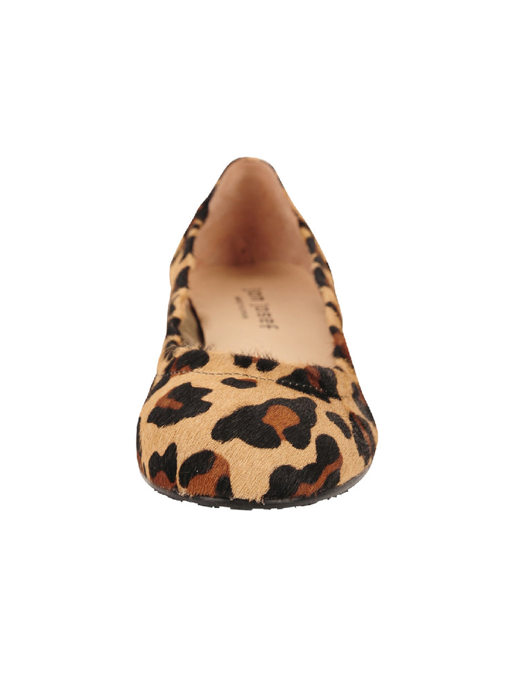 Womens Leopard Haircalf Maya Rock And Roll Flat 4