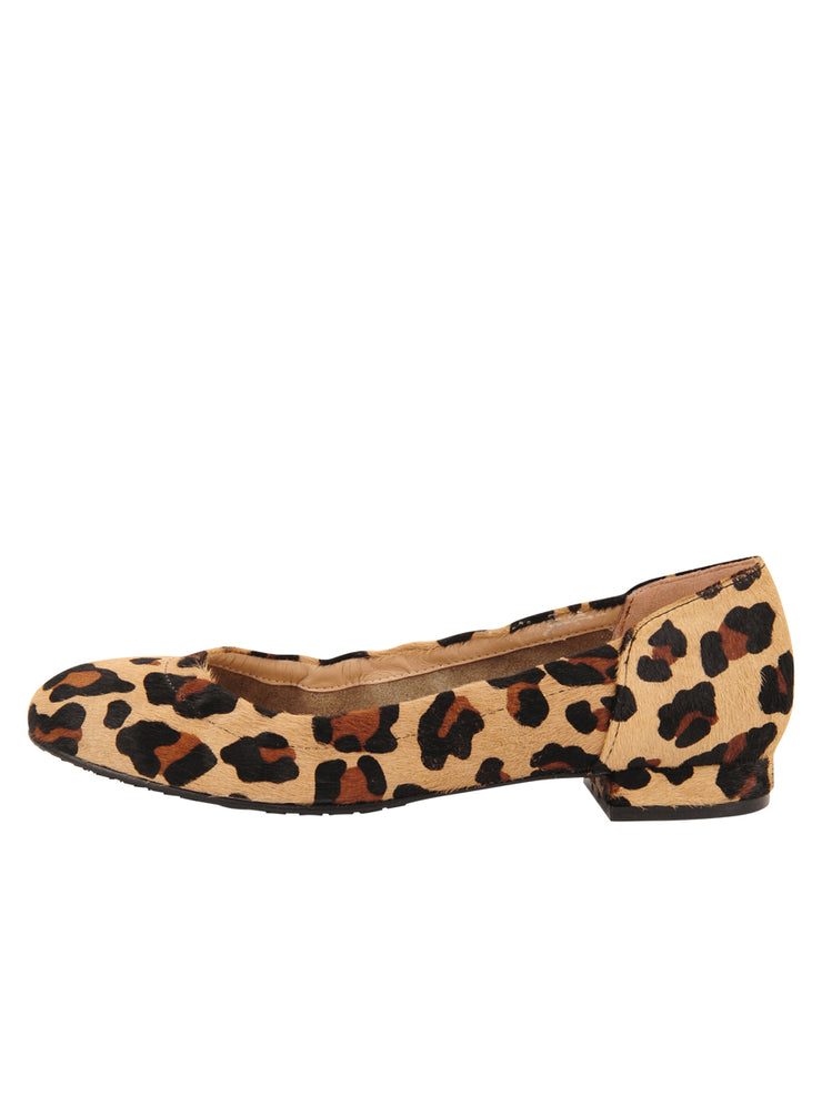 Womens Leopard Haircalf Maya Rock And Roll Flat 6