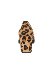 Womens Leopard Haircalf Katie Lug Pump 2
