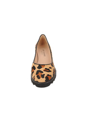 Womens Leopard Haircalf Katie Lug Pump 4