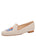 Womens Natural Linen Gatsby Elephant Flat
