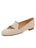 Womens Natural Linen Gatsby Queen Bee Flats 4 Alternate View
