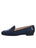 Womens Navy Linen Gatsby Nautical Flat 6 Alternate View