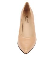 Womens Nude Patent High Heel Pump 4