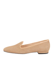 Womens Nude Suede Pluto Loafer 6