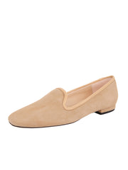 Womens Nude Suede Pluto Loafer