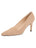 Womens Nude Suede High Heel Pump