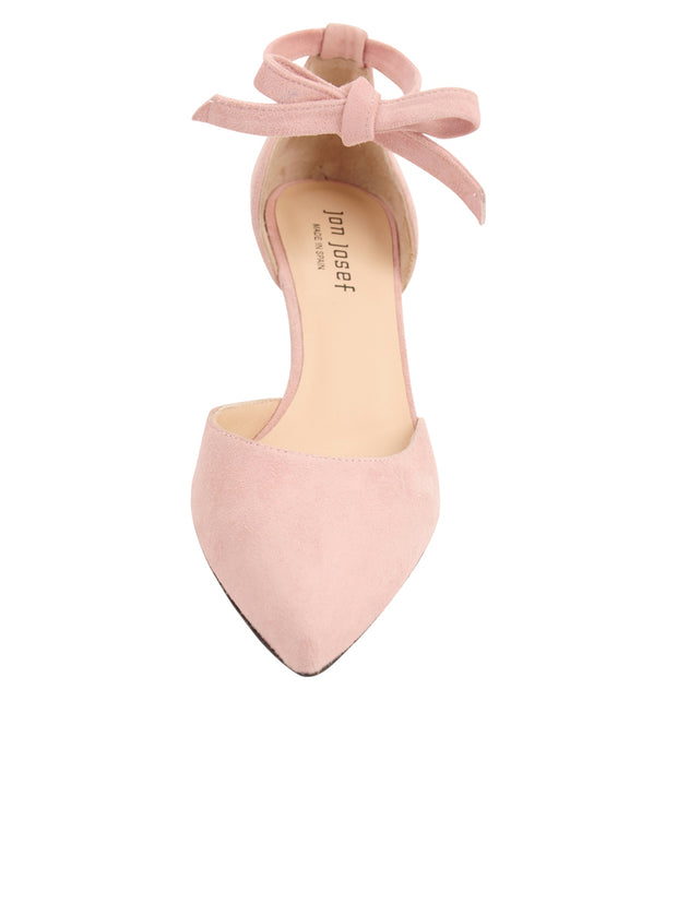 Womens Rose Water Suede Lazada Suede Pointed Toe Pump 4
