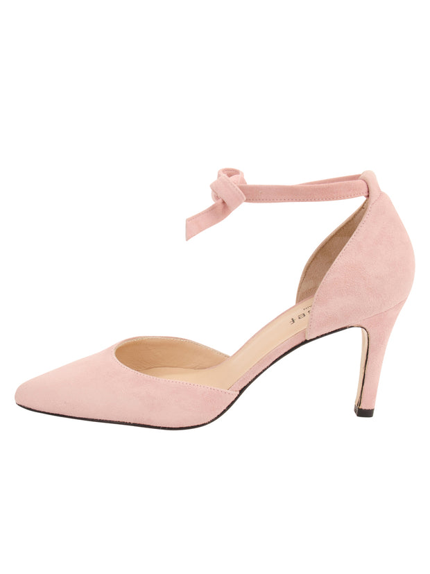Womens Rose Water Suede Lazada Suede Pointed Toe Pump 6