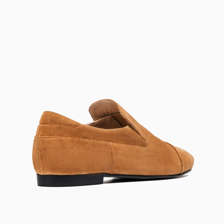 Jon Josef Moc Loafer in Cuoio Split Suede