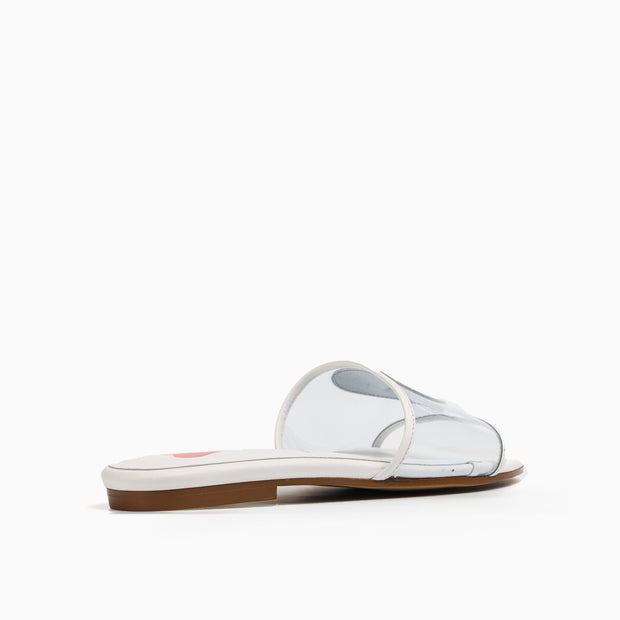 Jon Josef Nancy Sandal in White Leather