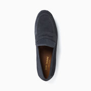 Jon Josef Taylor Loafer in Grey Split Suede