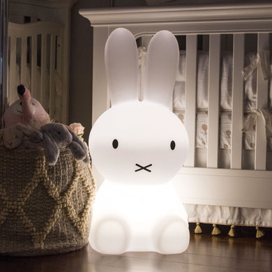 For nurseries and children's bedrooms oversized Miffy Bunny Lamp  interior lighting décor