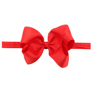 This modern classic beautifully voluminous dramatic, chic look red headband for babies and toddlers