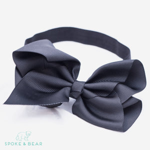 This modern classic beautifully voluminous dramatic, chic look headband for babies and toddlers