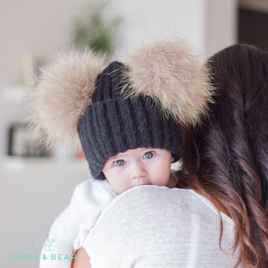Ear-resistible Pom-Pom Hat