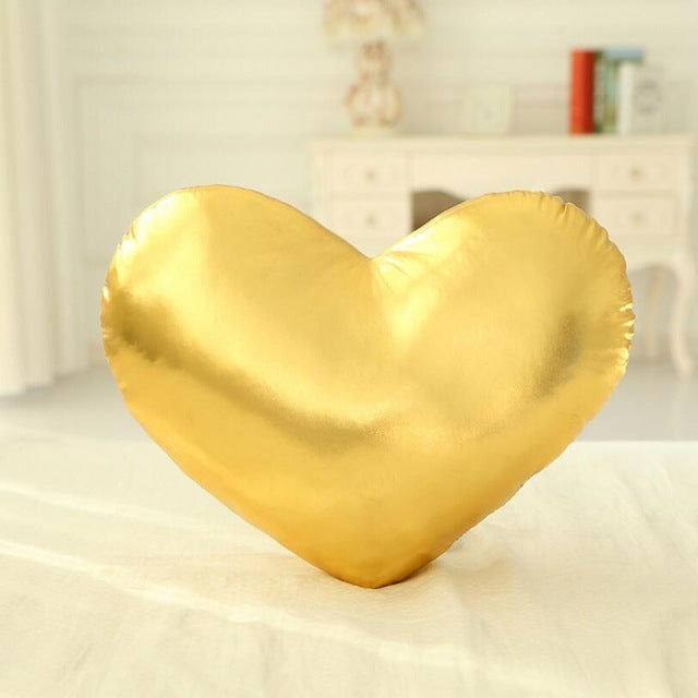 Magic and glimmer nursery kids room celestial metallic moon star heart shaped pillows chic vibrance play area comfy modern decor