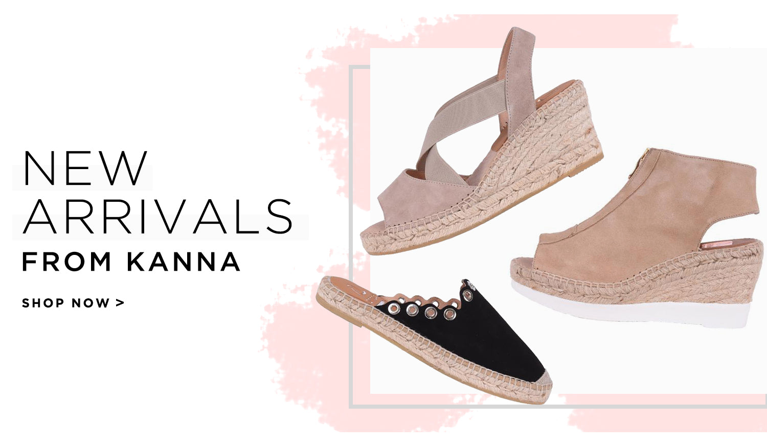New Arrivals from footwear brand Kanna