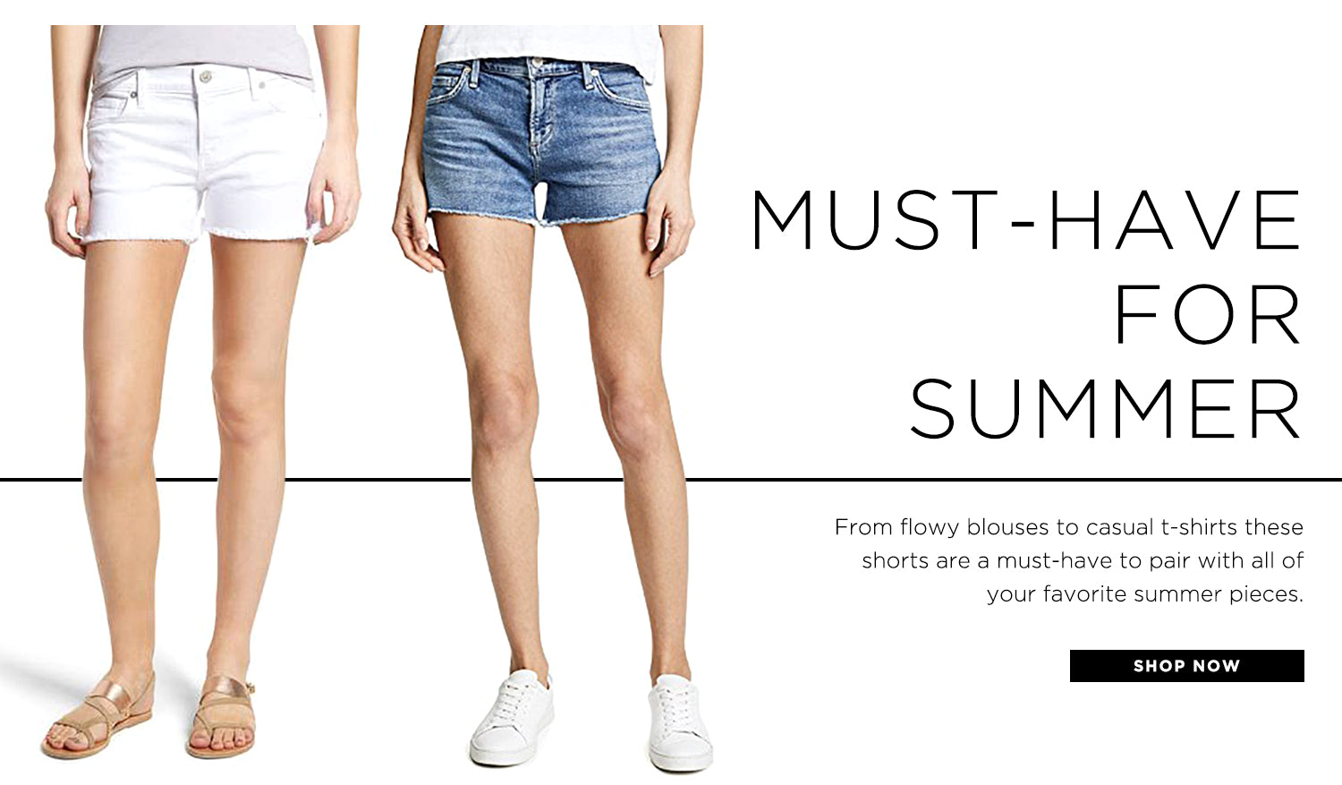 Must-Have: Denim shorts