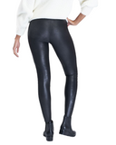 QUILTED FAUX LEATHER SPANX LEGGING