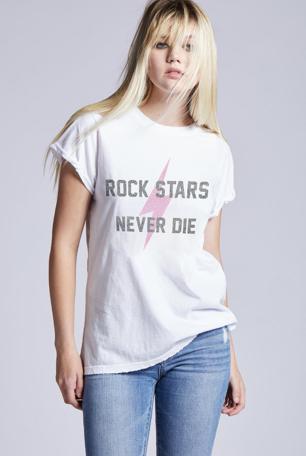ROCK STARS NEVER DIE ROLLED CUFF
