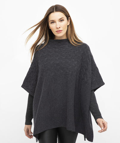 CABLE FUNNEL PONCHO