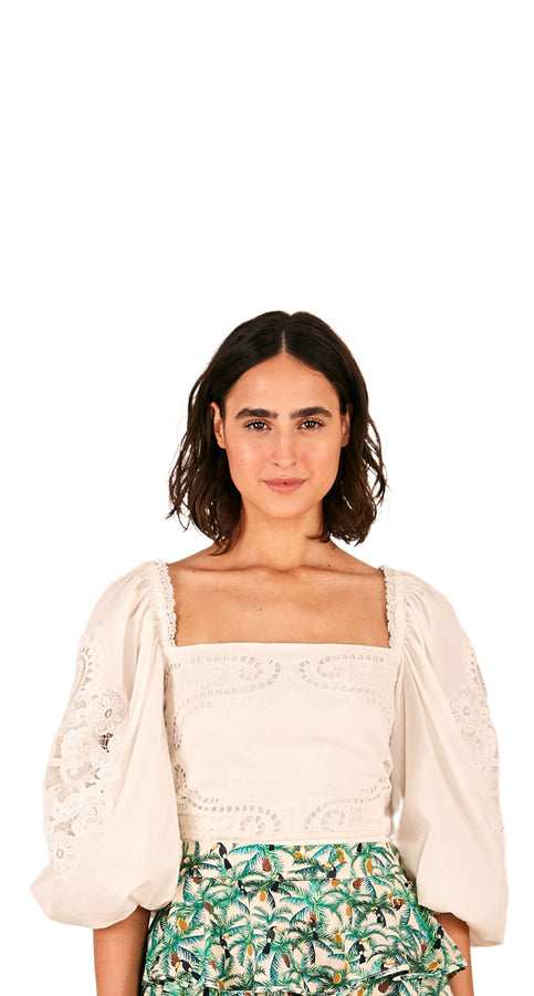 OFF-WHITE BLOUSE