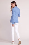 Womens Chambray Feel It In The Rain Blazer 4
