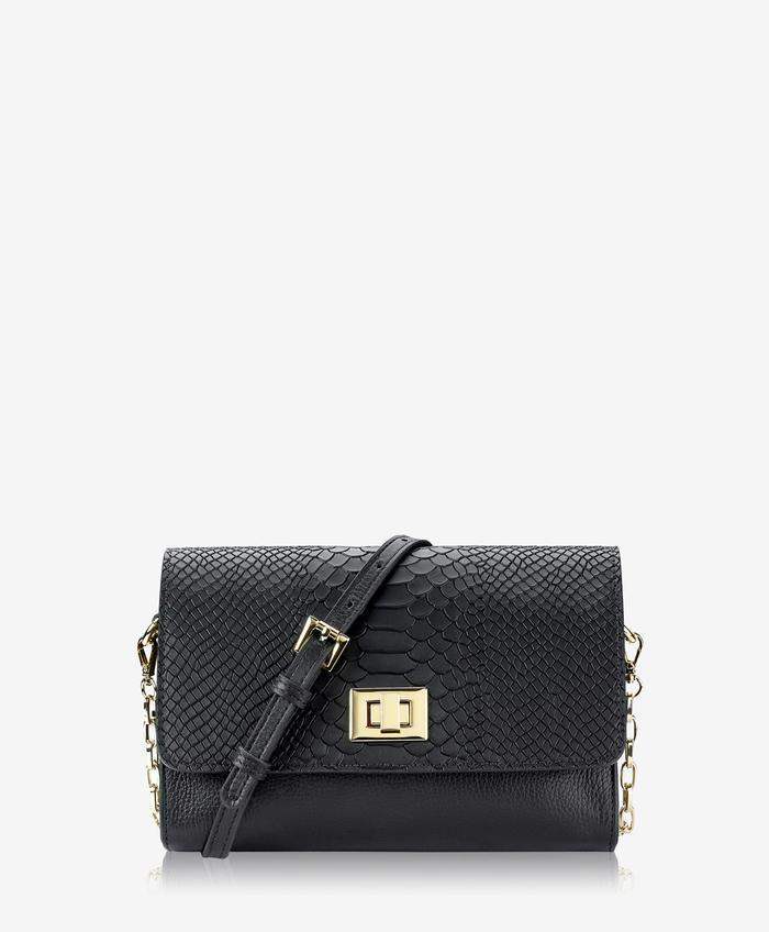 CATHERINE CROSSBODY EMBOSSED PYTHON