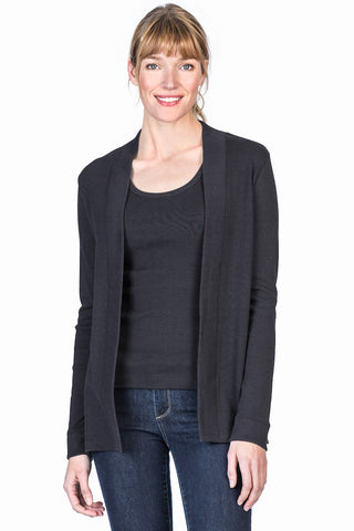 Long Sleeve Cardigan - Slate