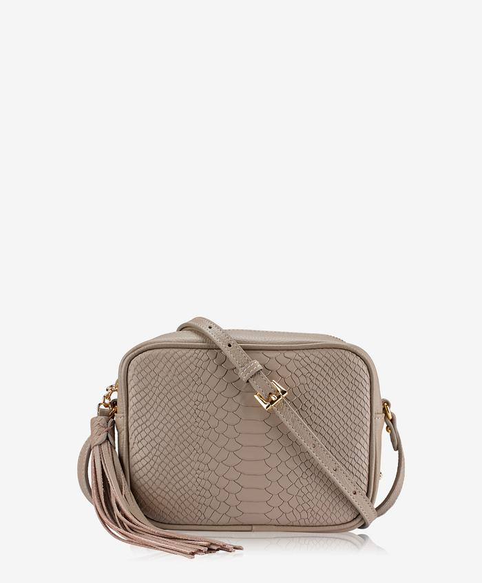 MADISON CROSSBODY EMBOSSED PYTHON