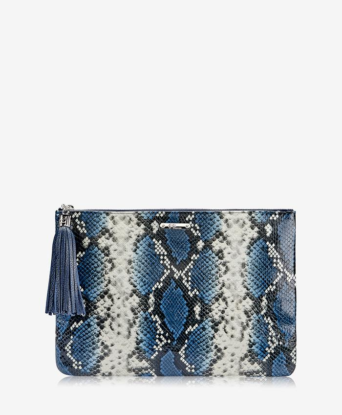 UBER CLUTCH COLORFUL PYTHON