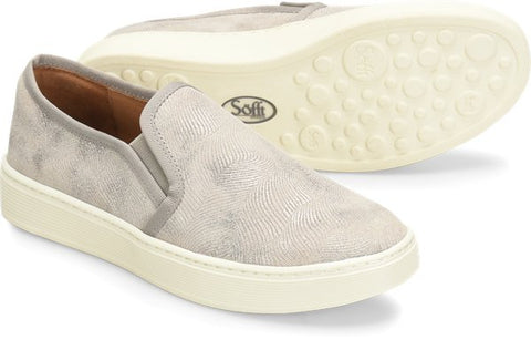 Mist Grey/ Platino Sofft Somers Slip-on sneaker