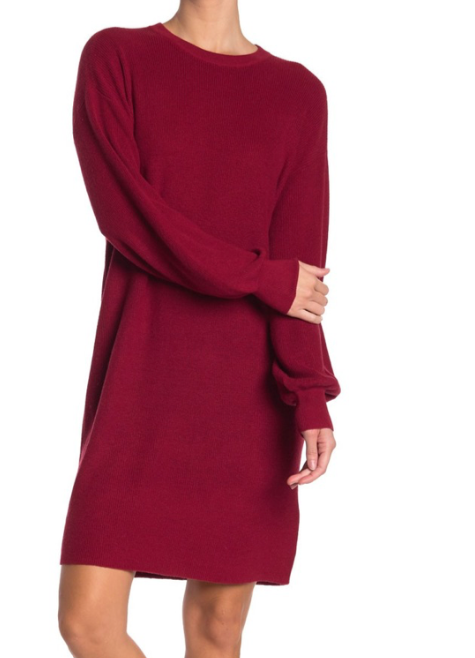 LAYLA CREW NECK DRESS