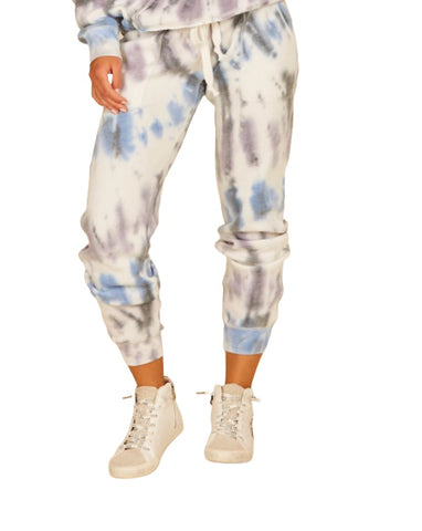 DIAGONAL SEASIDE TIE DYE JOGGERS