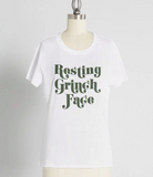 RESTING GRINCH FACE LOOSE TEE