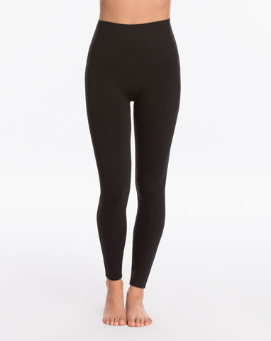 Womens Black SPANX Seamless Leggings