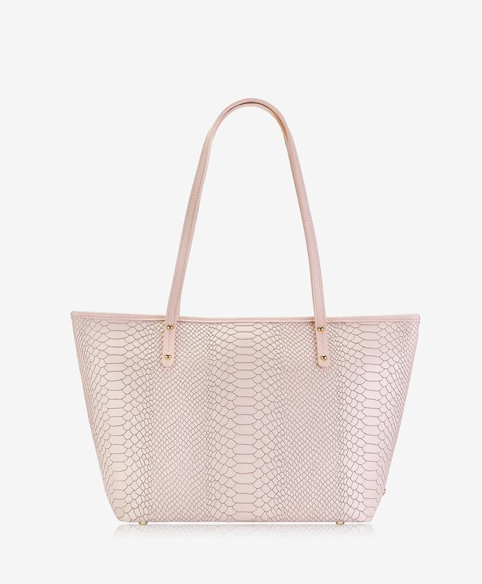 ZIP TAYLOR TOTE EMBOSSED PYTHON