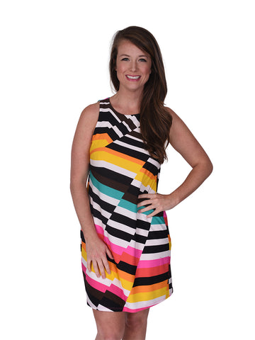Womens Multi Macee Dress