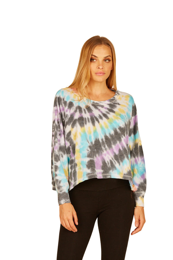 TIE DYE REVERSE BURNOUT THERMAL