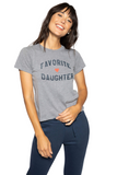FAVORITE DAUGHTER FITTED VANESSA TEE