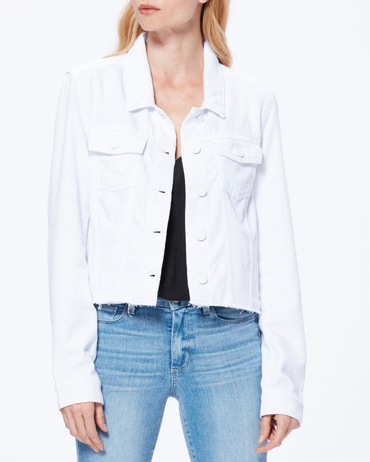 Relaxed Vivienne Jacket- Crisp White