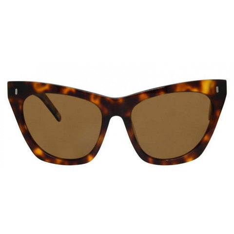 Lexi Sunglasses- Tortoise Acetate/Brown