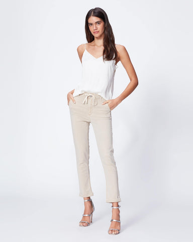 Drawstring Pant with Cuff- Vintage Warm Sand