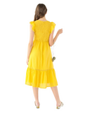 DAFFODIL MIDI DRESS
